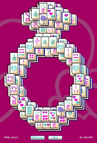 Click to view Diamond Ring Mahjong Solitaire 1 screenshot