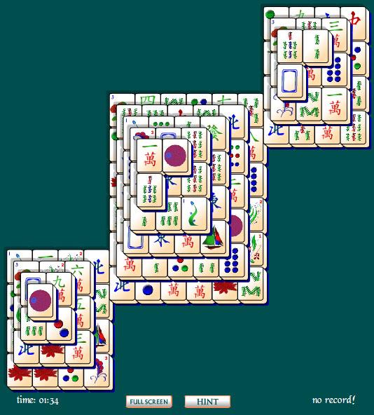 Windows 7 Egyptian Pyramids Mahjong Solitaire 1 full