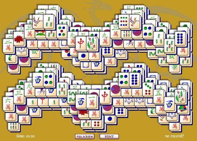 Windows 7 Mahjong Waves 1 full