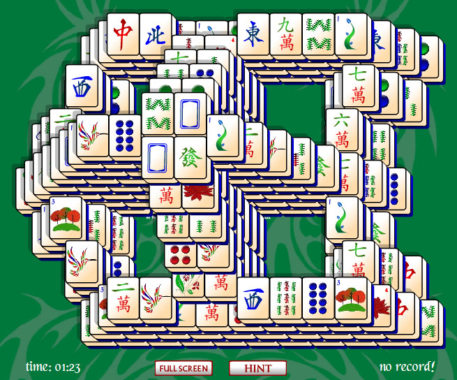 Window Mahjong Solitaire is a breeze.